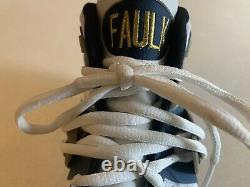 Marshall Faulk Signed Auto Autograph Game Used Worn Cleat Shoe Rams 12/14/2003