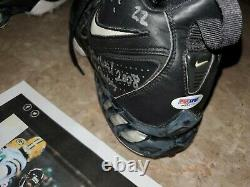 Matt Forte Rookie Game Used Auto Inscribed Cleats 1st W Vs Green Bay Td 101yds