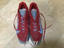 Matt Holliday 2013 World Series Season Nike Game Used Cleats St Louis Cardinals