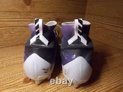 Matt Judon Baltimore Ravens Game Used Cleats