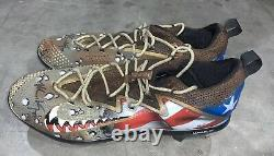 Matt Kemp Game Used Cleats Memorial Day 2017 Signed MLB Authenticated