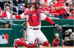 Matt Wieters Game Used Washington Nationals Cleats Orioles Georgia Tech MLB