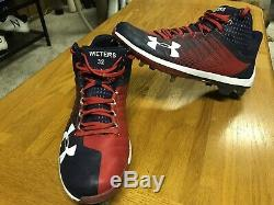 Matt Wieters Washington Nationals Game Used Cleats Cardinals MLB Orioles