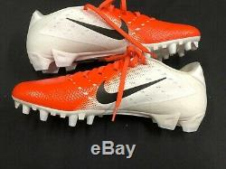 Miami Dolphins Game Used Nike Vapor Orange Cleats Size 11.5 Great Condition