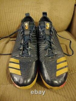 Michael A. Taylor Game Used Adidas Cleats Royals Nationals