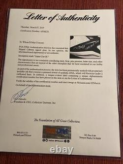 Miguel Cabrera 2005 Signed Game Used Cleats Psa