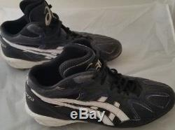 Mike Piazza ca. 2000 game used cleats, JT Sports/PSA LOA