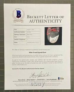 Mike Trout Signed 2014 MVP Season Game Used NIKE Cleats Sz 11 Beckett BAS LOA