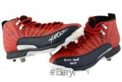 Mookie Betts 2017 Game Used/Autographed Cleats Boston Red Sox