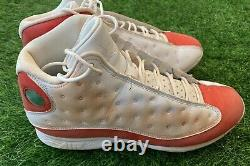 Mookie Betts Nike Jordan 13 Game Used Worn Cleats MLB Authenticated Heavy Use