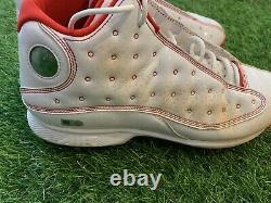 Mookie Betts Nike Jordan 13 Game Used Worn Cleats MLB London Series MLB Auth
