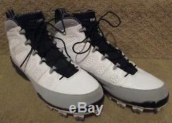 NFL Washington Redskins #10 Paul Richardson Jr. Game Used Jordan Cleats Size 12
