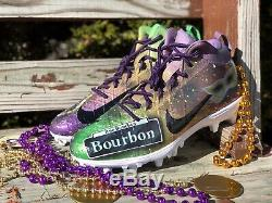 New Orleans Saints Michael Thomas Game Used Cleats, Custom 1st Pro Bowl Auto LOA