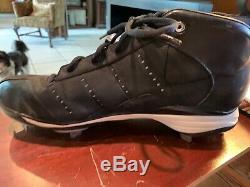 New York Yankees Derek Jeter'08 Game Used Signed Nike Jordan Cleat Steiner