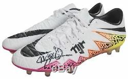 Neymar Game Used & Signed Nike Cleats