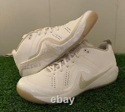 Nike Mike Trout Sample MADE FOR WEDDING Size 11.5 Angeles Game Issued Used PE