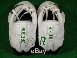 Nike Oregon Ducks Game Used Nike Vapor Untouchable Speed 3 TD Football Cleats