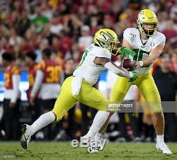 Nike Oregon Ducks Game Used Nike Vapor Untouchable Speed 3 TD Football Cleats 12