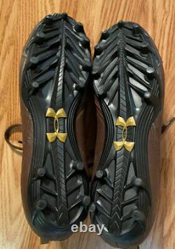 Notre Dame Football Team Issued/game used Under Armour Rockne cleats size 12.5