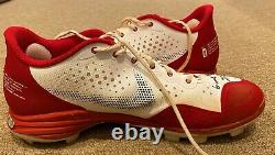 Paul Goldschmidt MLB Holo Fanatics Game Used Autographed Cleats 2020 Cardinals