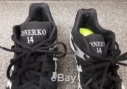 Paul Konerko Game Used Worn Cleats Under Armour Inscribed Chicago White Sox