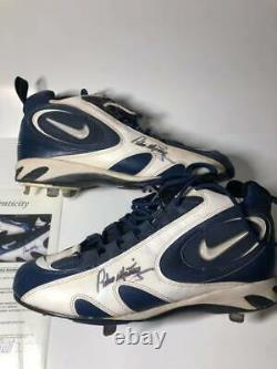 Pedro Martinez Nike Zoom Air Game Worn Signed Cleats JSA Authentication