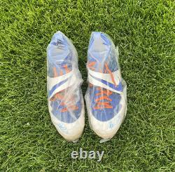 Pete Alonso #20 Autographed Game Used Cleats. Alonso Hits 51st HR Of Rookie Year