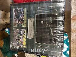 Philadelphia Eagles Carson Wentz 2019 game used & worn cleat display signed auto
