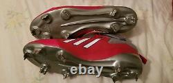 Philadelphia Phillies game CHASE UTLEY Adidas Spike Shoes Cleats NEW un used