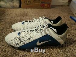 Pitt Panthers Dallas Cowboys Antonio Bryant Game Used Autograph Cleats Rare