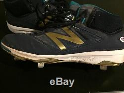 ROBINSON CANO Game Used Autographed Cleats PSA (W) COA Signed authentic GU Mets