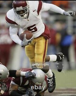 Reggie Bush 2004 USC TROJANS Game Worn Game Used Dual Signed Cleats HEISMAN YEAR