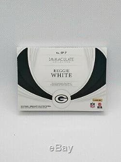 Reggie White 2019 Immaculate Football Green Bay Jumbo Cleat Game-used #5/5