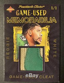 Reggie White Game-Used Cleat Nike Swoosh Solitaire 1/1 Eagles, Packers