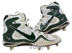 Reggie White Green Bay Packers Game Used Cleats Jan 4th 1998 Vs Bucs WHITE LOA