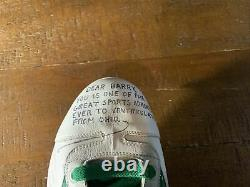 Rickey Henderson Signed Autographed Game Used Cleat Oakland Athletics