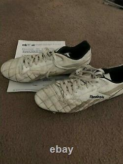 Robert Smith Vikings game used rookie cleats