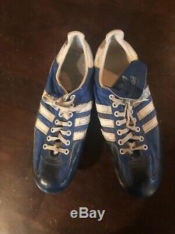 Robin Yount Adidas Signed/Auto Game Used/Worn Cleats Milwaukee Brewers