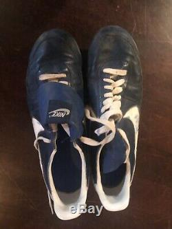 Robin Yount Nike Signed/Auto Game Used/Worn Cleats Milwaukee Brewers