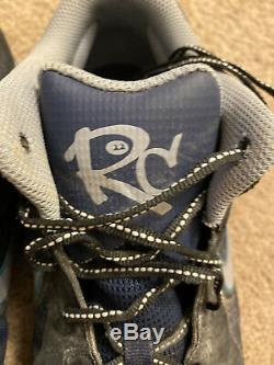 Robinson Cao Game Used Signed Cleats Seattle Mariners Photo Matched