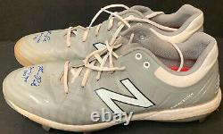 Ryan Pepiot Los Angeles Dodgers Signed Auto 2021 Game Used Cleats