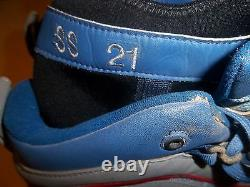 Sammy Sosa Cubs #21 Game Used Worn Cleats Shoes Spikes