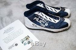 Sammy Sosa HR #499 Game Used SS21 Autographed Cleats CUBS ASI Hologram & COA