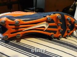 Shaquil Barrett Denver Broncos Signed Game Used Cleat Tampa Super Bowl 50 Champs