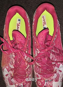Shed Long Game Used 2017 Mothers Day Cleats