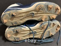 Starlin Castro Chicago Cubs Signed 2010 Game Used Cleats Spikes
