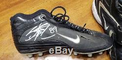 Steve Smith Carolina Panthers Signed Game Used Cleat