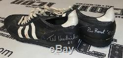 Ted Hendricks 2x Signed Game Used Worn 1981 Pro Bowl Cleates PSA/DNA COA Raiders