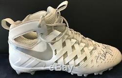 Teddy Bridgewater Signed Game Used Cleats Nike Huarache Size 12.5