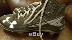 Tim Anderson ROOKIE autographed auto game used worn cleats Sids Graphs COA